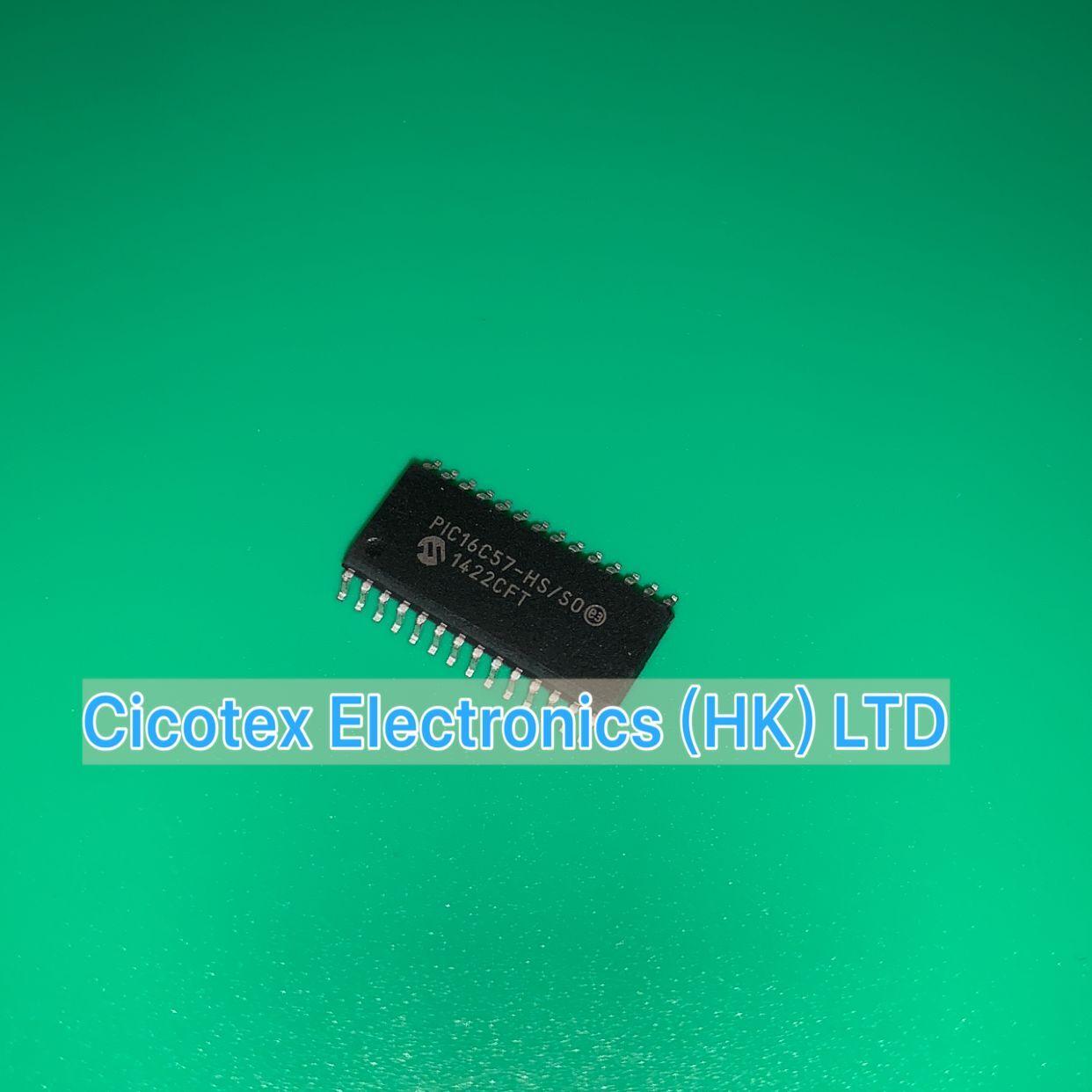 2 pçs/lote PIC16C57-HS/so SOIC-28 pic 16c57-hs/so ic mcu 8bit 3kb otp 28soic PIC16C57T-HS/so pic16c57hsso pic16c 57-hs/so pic16