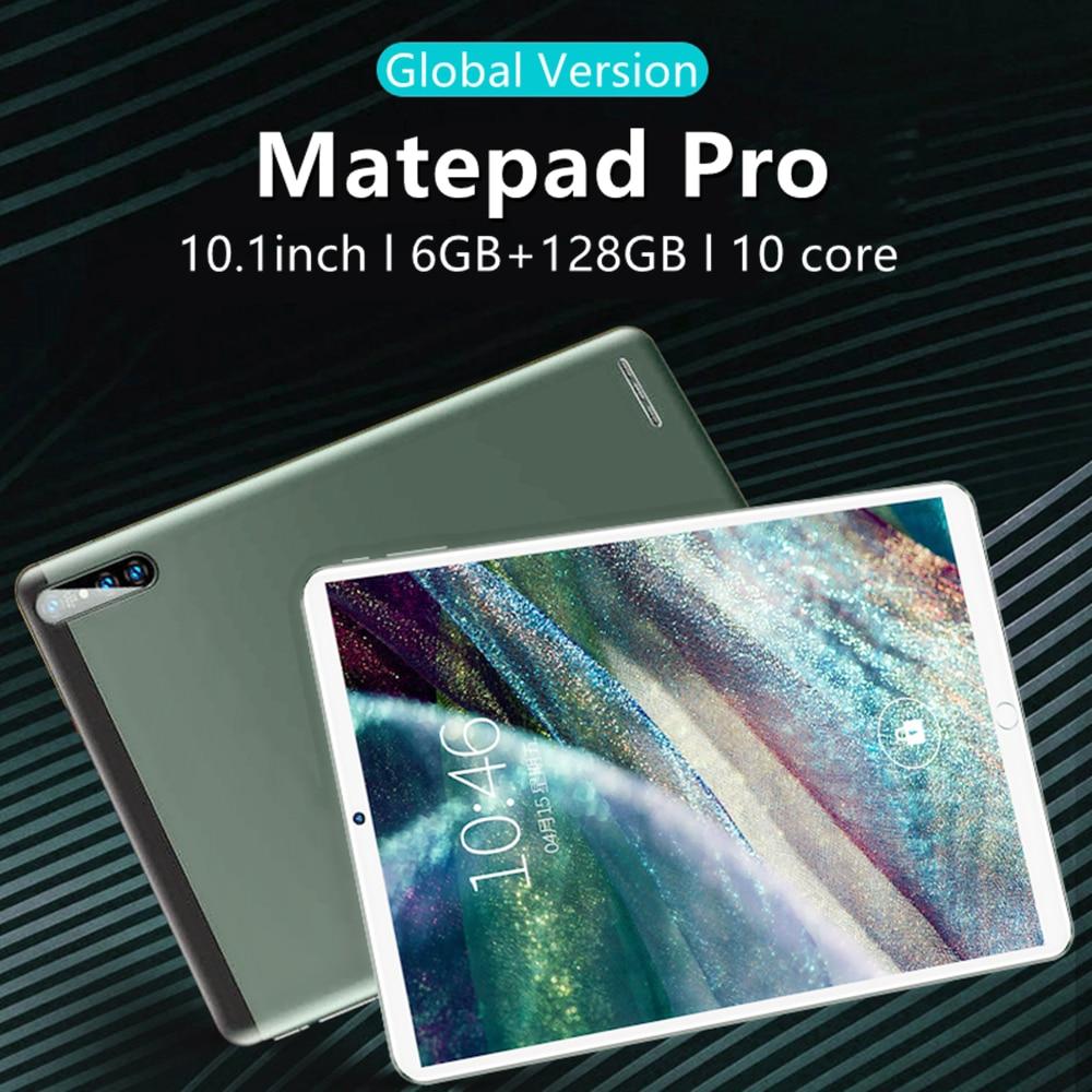 Matepad Pro 10.1 inch'' Tablet PC Network 6GB RAM + 128GB ROM tablet osu 10 Core MT6788 sim tablet W