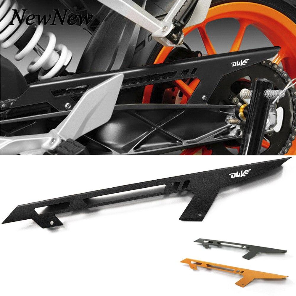 1 Uds., Protector de cadena de aluminio para motocicleta, cubierta protectora para KTM DUKE 390 2013-2017 2016 DUKE 125 2011-2017 DUKE 200 2012-2017