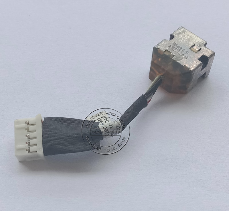 Laptop DC Power Input Jack In Cable for HP Envy 17 17-3000 17-3200 17T-3000 17T-3200 661451-301 6614