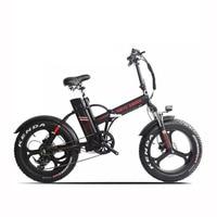 New 20inch electric bicycle fat tire snow bike 1000w motor 48V 20ah li-ion battery  Hydraulic brake fold fat ebike