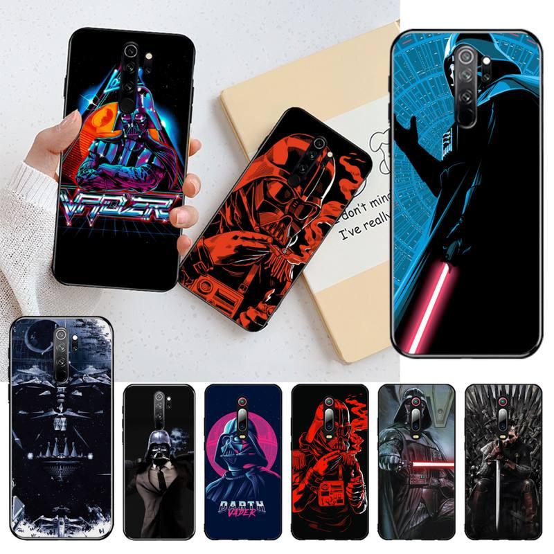CUTEWANAN Darth Vader fumar Star Wars arte personalizado foto funda de teléfono suave para Redmi Nota 8 8A 8T 7 6 6A 5 5A 4 4X 4A ir Pro
