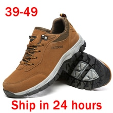 Grande taille 49 chaussures décontractées homme 47 plein air Tenis Masculino Adulto antidérapant homme baskets 46 Calzado Hombre randonnée marche chaussure 48