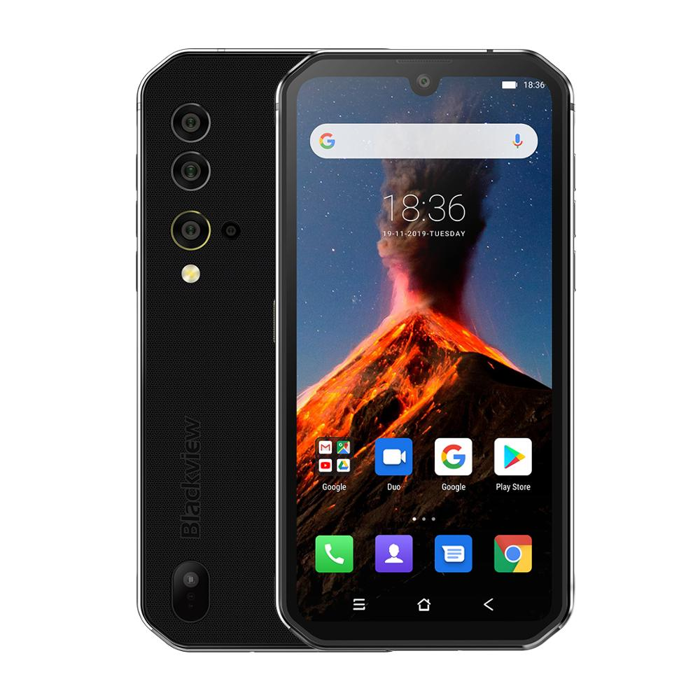 Blackview BV9900 Helio P90 Octa Core 8GB 256GB 5.84'' FHD+ IP68 Waterproof Rugged Smartphone 4380mAh Android 9.0 Mobile Phone