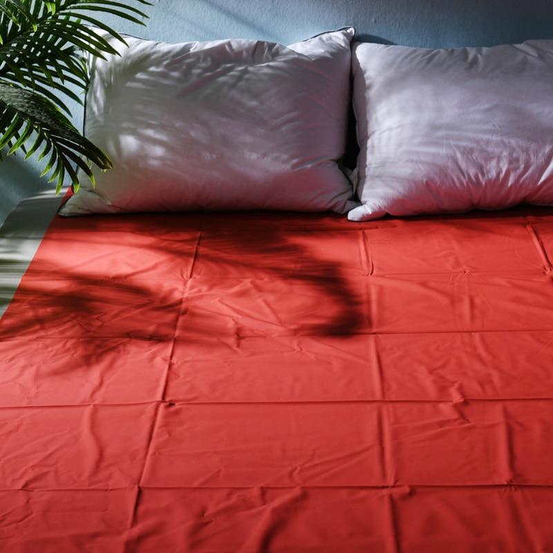 S/M/L sábanas de cama de adulto impermeables s-e-x cubierta de colchón de vinilo de PVC para alivio de alergias, cama hipoalergénica s-e-x, juego de sábanas