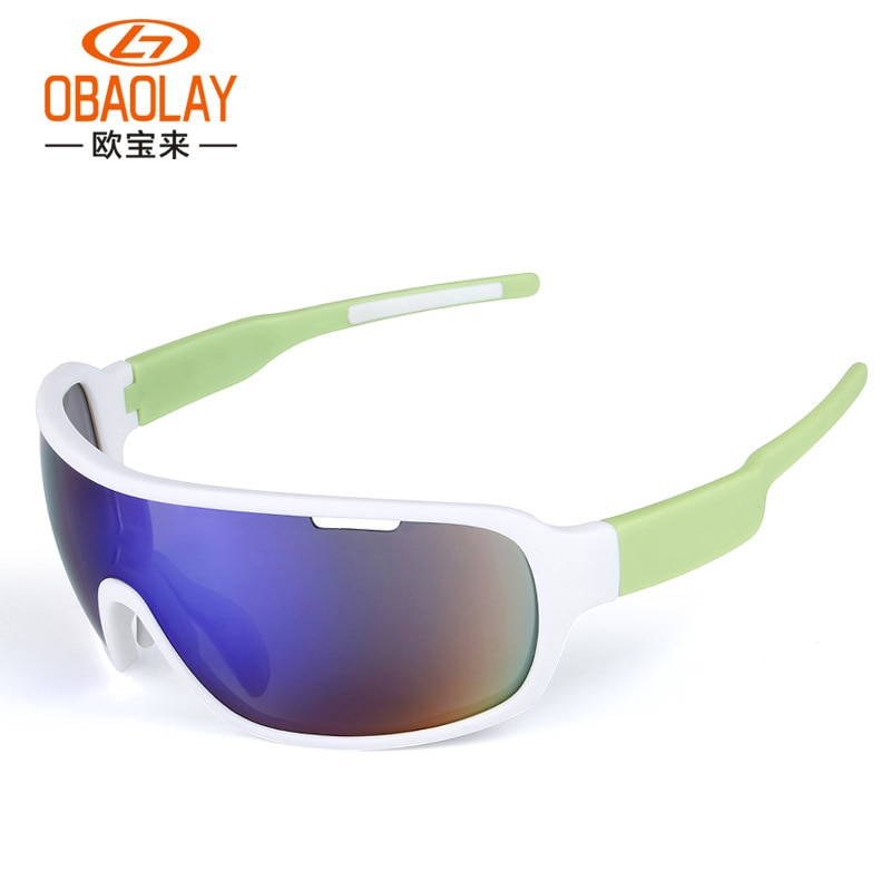 OBAOLAY  Popular Outdoor Men's and Women's Sports Polarized Riding Glasses Polarized Riding Sunglasses Sports Cycling Glasses enlarge