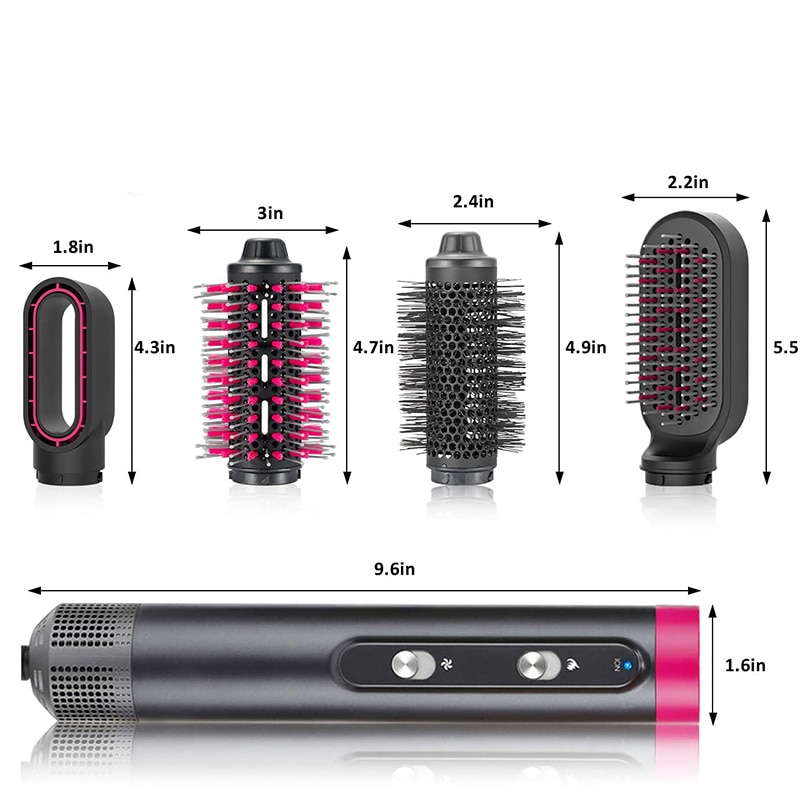 Salon Negative hair dryer leafless strong wind anion blow hairdryer salon barber fast drying smooth portable household styler enlarge
