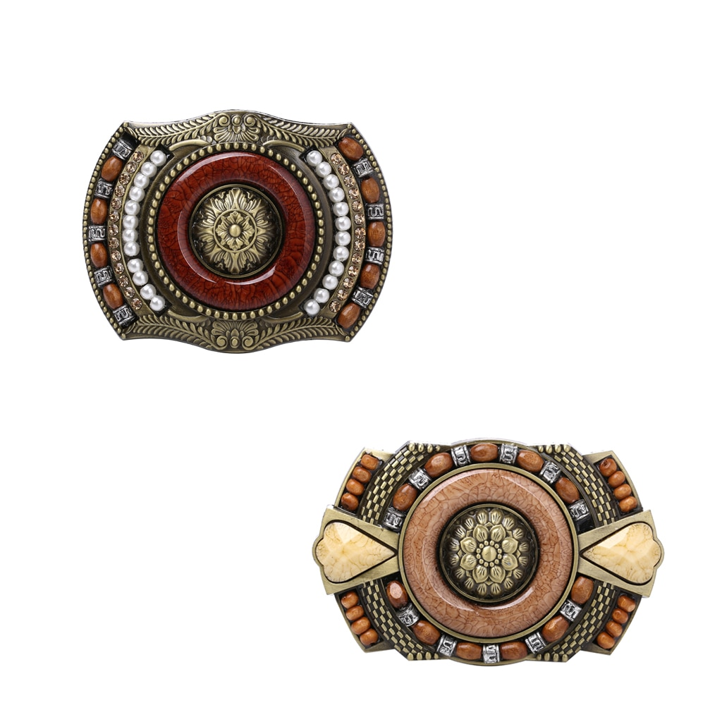 Men's Western Boho Indian Cowboy Buckle  Vintage Belt Buckle