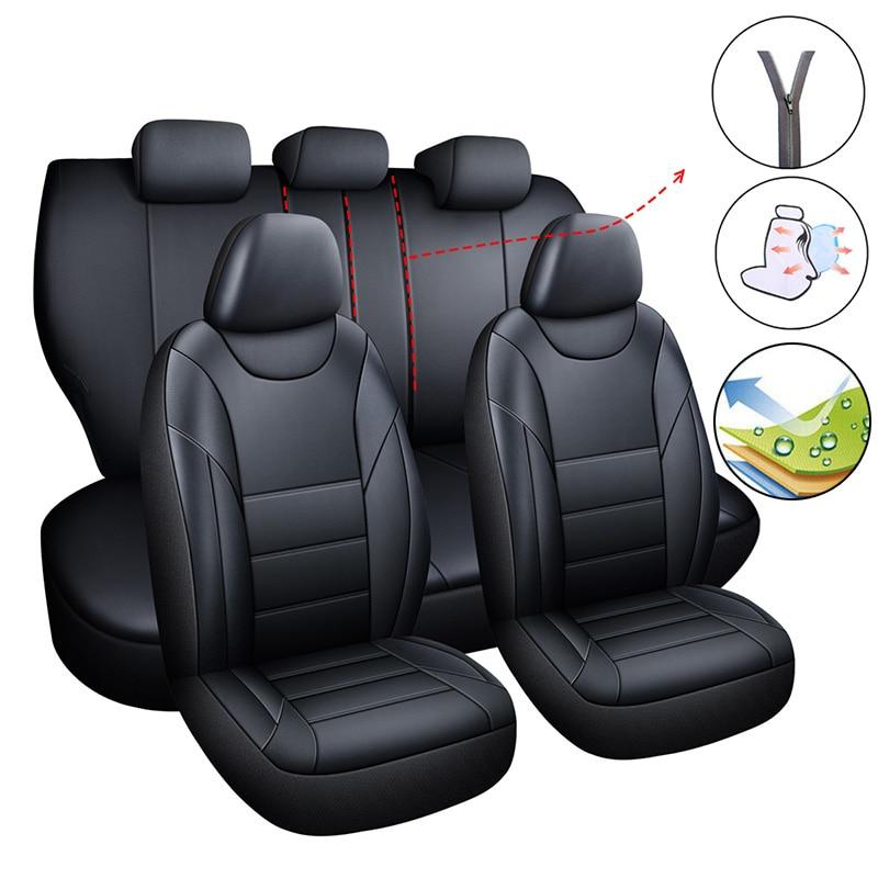 Juego de fundas universales para asiento de coche para Suzuki Alto Ciaz Escudo Grand Vitara nomadee Sidekick kizkashi Liana s-cross Sx4