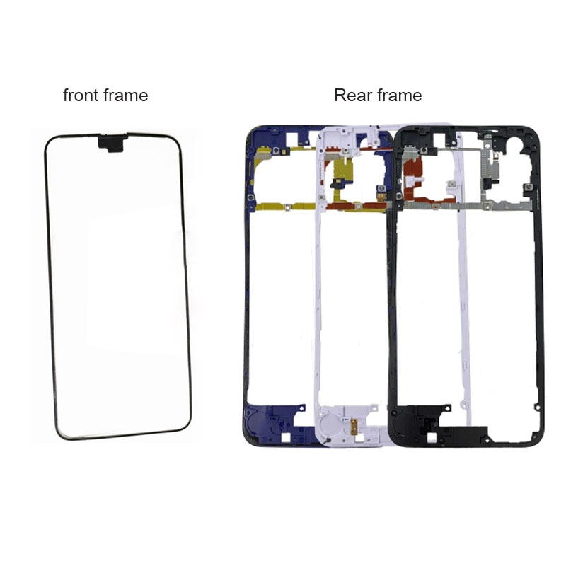 For Huawei Honor 20 Rear Middle Frame Plate Housing Front Bezel Faceplate Bezel LCD Supporting Back