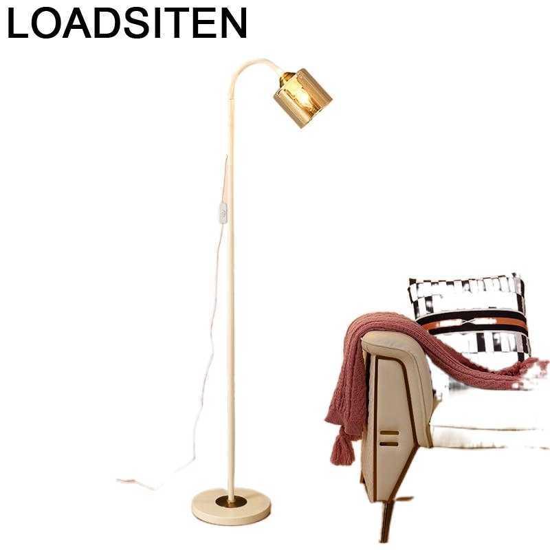 Aydinlatma-Lámpara moderna Para sala De estar, lámpara De Pie, Luz De suelo