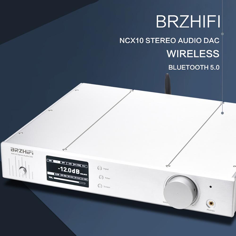 BRZHIFI NCX10 AK4499 USB DAC Bluetooth 5,0 усилитель 2,0 DSD256 HiFi Heaphone усилитель оптического волокна коаксиальный вход