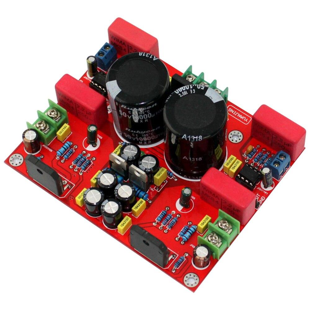 لوحة مضخم صوت ستيريو ، LM3886 NE5532 ، 68W ، 2.0 قناة أمامية وخلفية ، طاقة صوت HIFI ، DIY
