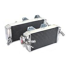 BIKINGBOY MX radiateurs de refroidissement par eau moteur en Aluminium pour Kawasaki KX 450 F KX450F KX-F 450 KXF 450 06 07 2006 2007