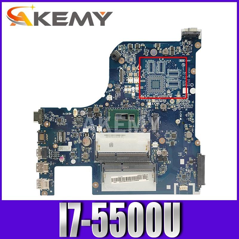 NM-A331 لينوفو G70-80 Z70-80 Z70-70 اللوحة المحمول مع وحدة المعالجة المركزية I7 5500U SR23W DDR3 100% اختبار بالكامل