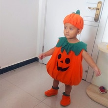 Halloween Costumes Toddler Baby Pumpkin Costume Childern Cute Cosplay for Baby Girl Boy Fancy New Year Carnival Party Dress