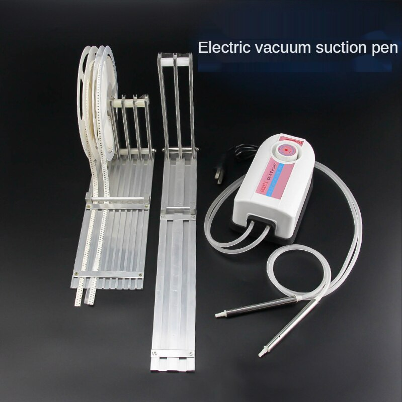 Powerful electric vacuum suction pen SMT manual placement machine IC extractor feeding rack LED lamp bead placement pen enlarge