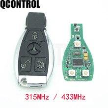 Inteligentny klucz QCONTROL działa dla Mercedes Benz obsługuje kontroler NEC i BGA typ pilot samochodowy rok 2000-