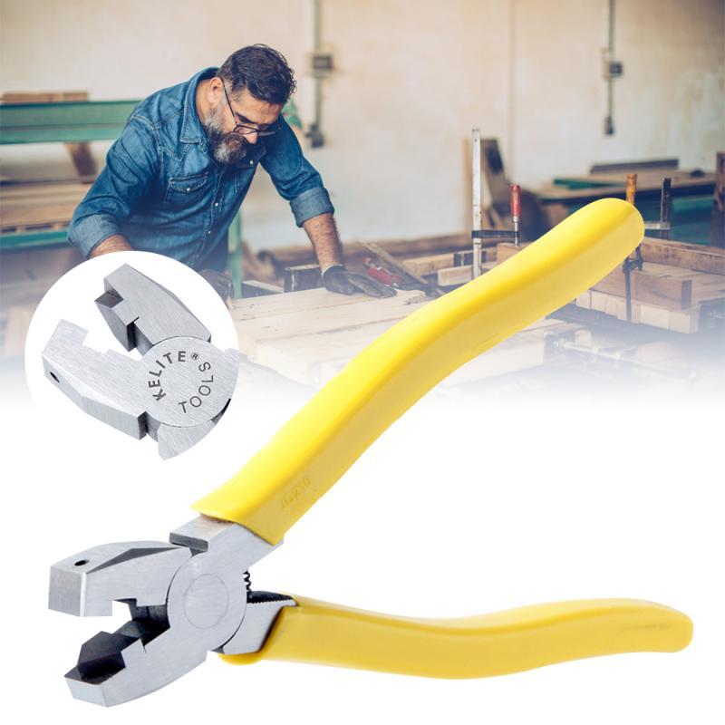 8 Inch 90 degree V-shaped Frame-Folding Pliers V-Groove Edge Banding Woodworking Tool For Home DIY Bending Frames