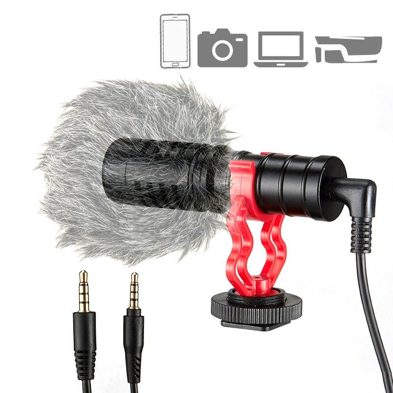 KUP-ميكروفون مكثف احترافي MM1 ، كاميرا تسجيل فيديو ، ميكروفون صغير ، استوديو كمبيوتر شخصي ، هاتف مع حامل