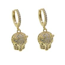 جميل لطيف كول الحيوان النمر تصميم مجوهرات كامل تشيكوسلوفاكيا معبد ليوبارد استرخى القرط الذهب الفضة اللون النساء مجوهرات الأزياء