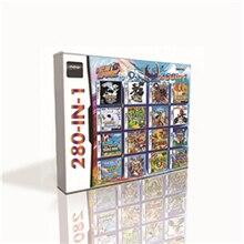 280 in 1 Heißer Spiel Patrone Für DS 2DS 3DS Spielkonsole mit Pokemoned Schwarz Weiß HeartGold SoulSilver Platin Marioed kart