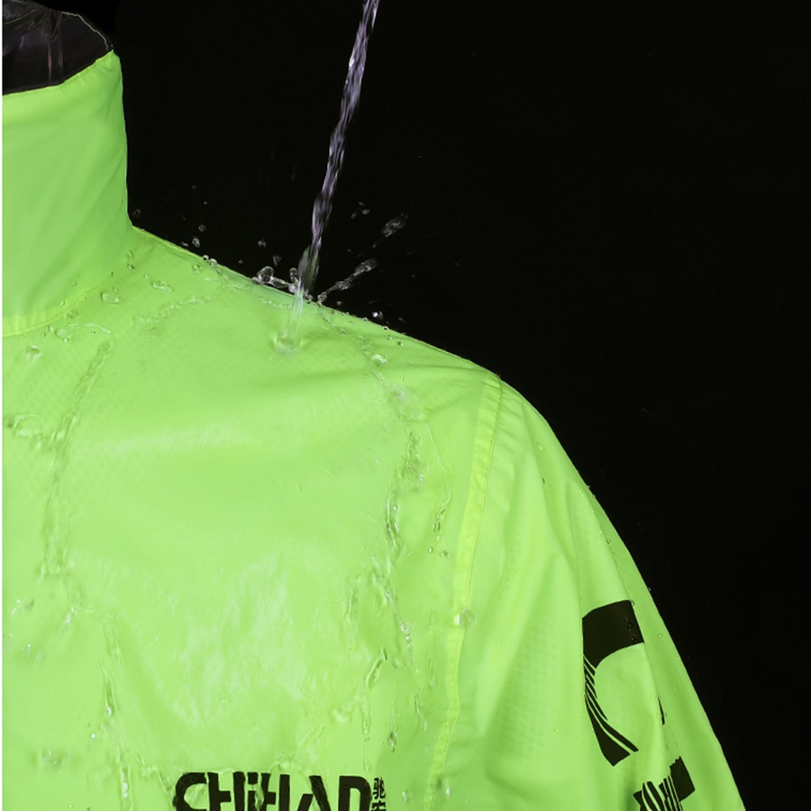 Windproof Motorcycle Raincoat Men Reflective Waterproof Pants Outdoor Fishing Rain Suit Adult Split Lightweight Riding Rainwear enlarge