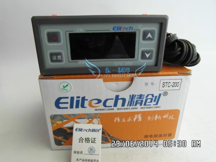 STC200 Jingchuang ترموستات شاشة ديجيتال متحكم في درجة الحرارة متر منظم حراري ذكي التحكم في درجة الحرارة التبديل درجة الحرارة