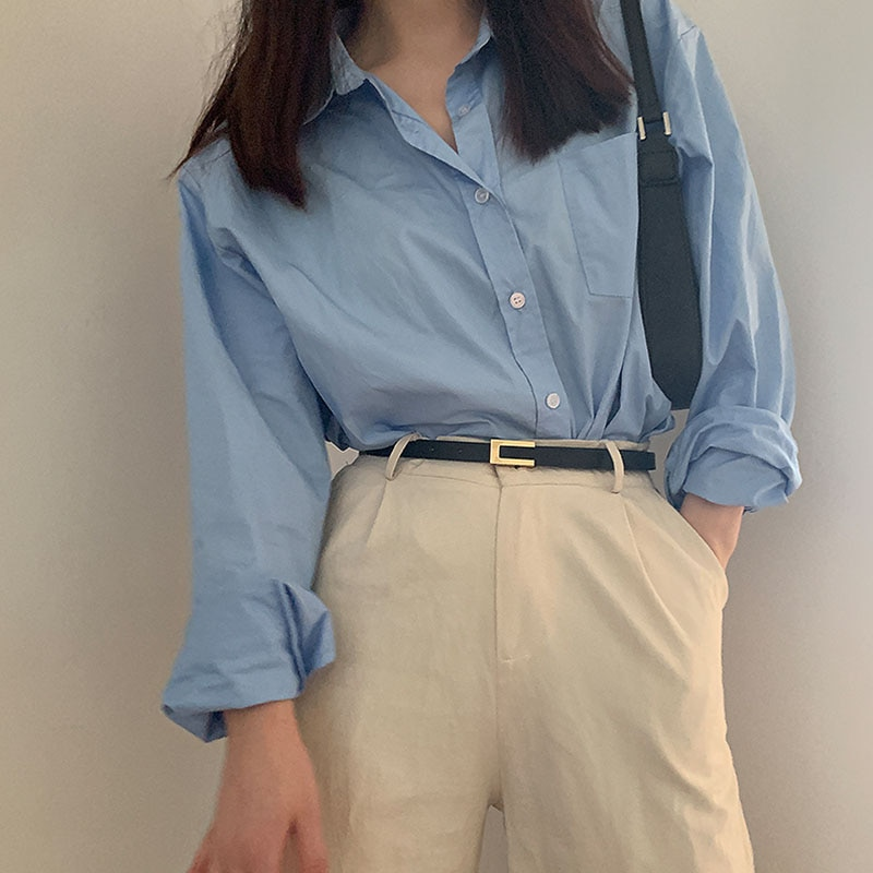 AliExpress - New Fashion Leather Thin Belt For Women Metal Buckle Waist Strap Designer Ladies Trouser Dress Simple Decoration Waistband