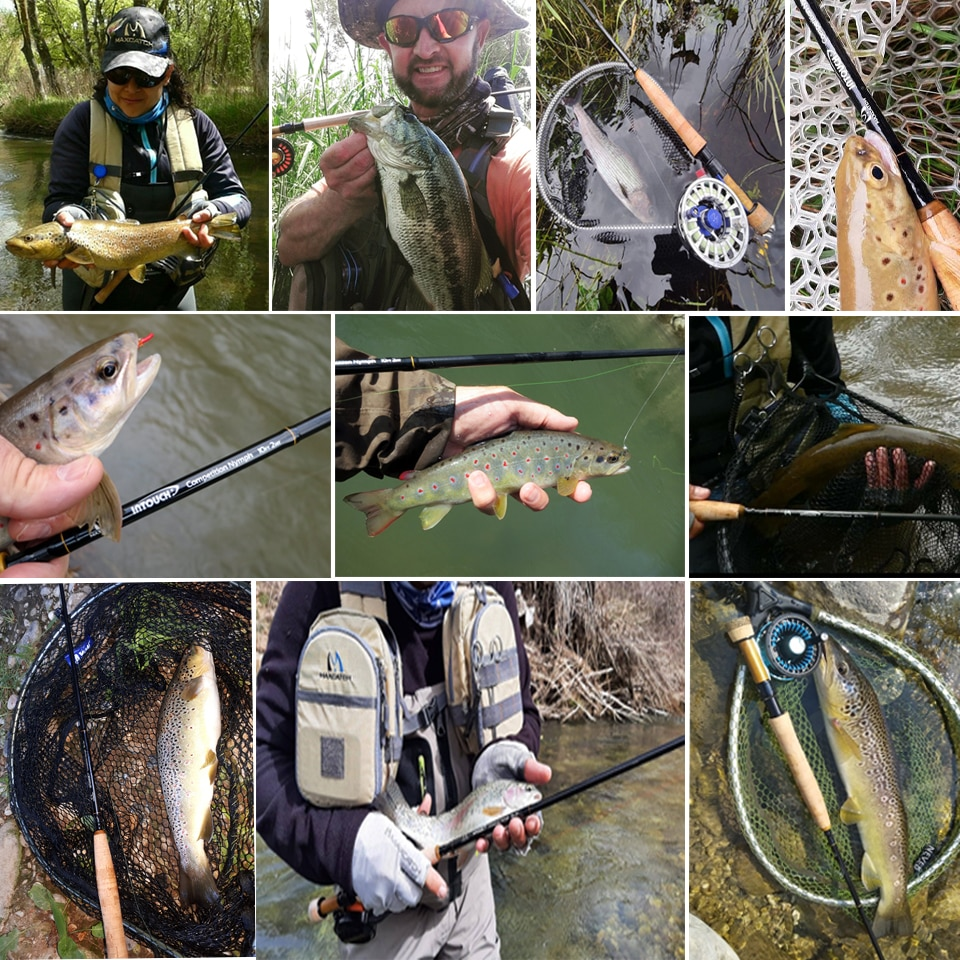 2/3WT Competition  Fly Rod IM12/40T+46T Carbon Fiber 10/10.5FT Moderate Euro Nymphing Fly Fishing Rod enlarge
