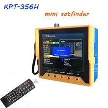 3.5 pouce DVB S2 Satfinder KPT 356H suivi rapide Full HD numérique Satellite Finder mètre MPEG-4 modulateur DVB-S2 DVB-S Sat Finder