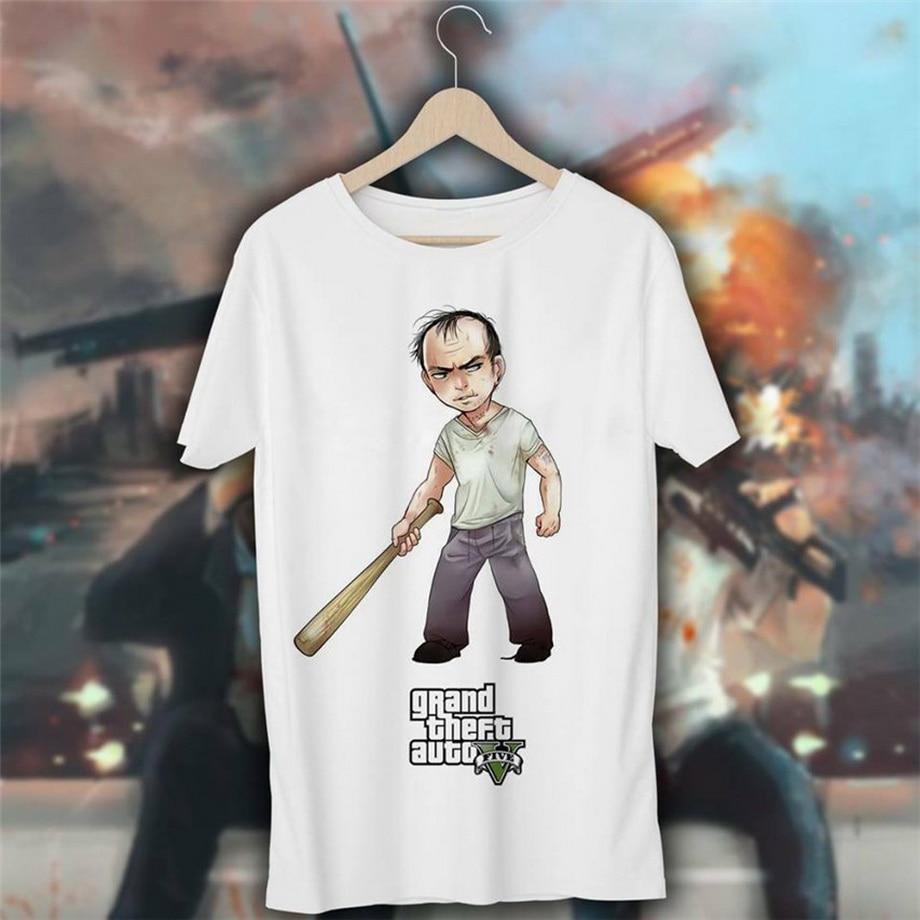 GTA 5, camiseta Maglietta 19 Grand Theft Auto Vice City, camiseta informal de Xbox, Xbox, Estilo Vintage, Unisex, camiseta de moda