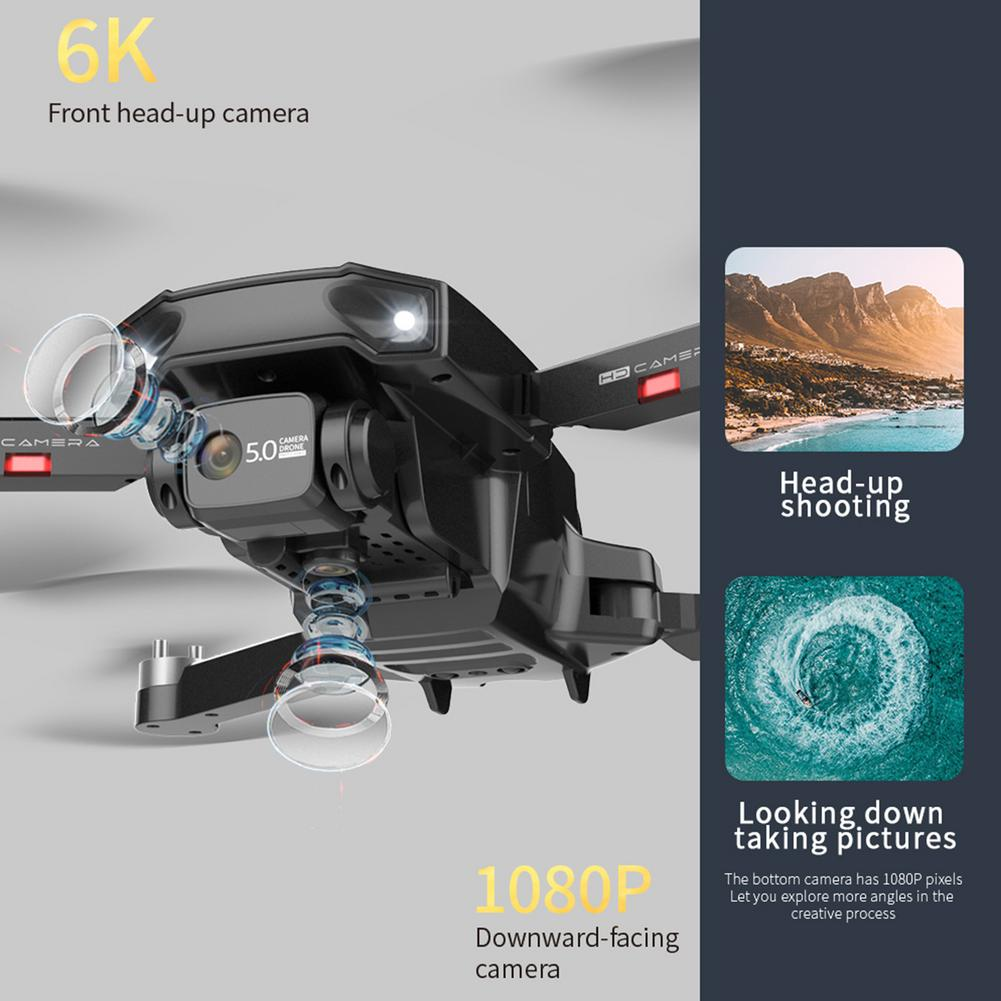 New HJ188 Drone With Camera 6K GPS Professional HD Recording 5G FPV Brushless Foldable Long Distance Quadcopter enlarge
