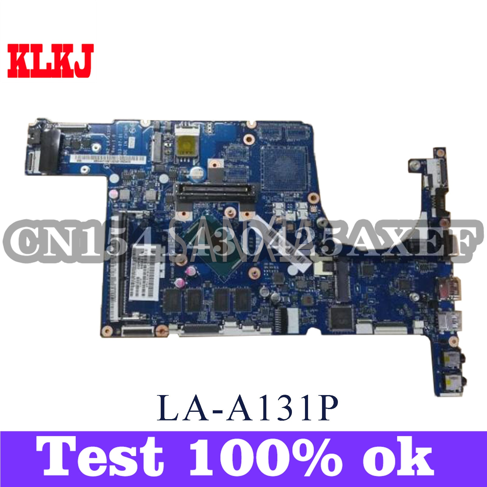 KLKJ LA-A131P اللوحة الأم للكمبيوتر المحمول لشركة أيسر TMP645-MG Travelmate-P645 الأصلي 4GB-RAM I7-4500U
