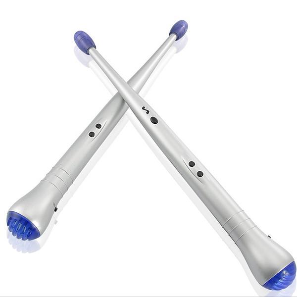 Пара электрических ритм Beat палочки Барабанные палочки воздушные барабанные палочки для детей Игрушка музыкальный инструмент ударные аксессуары