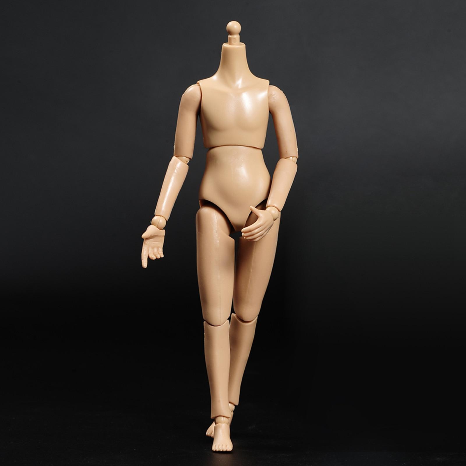 1:6 Flexible Boy Girls  Body Wheat Skin 12-inch Doll for Children