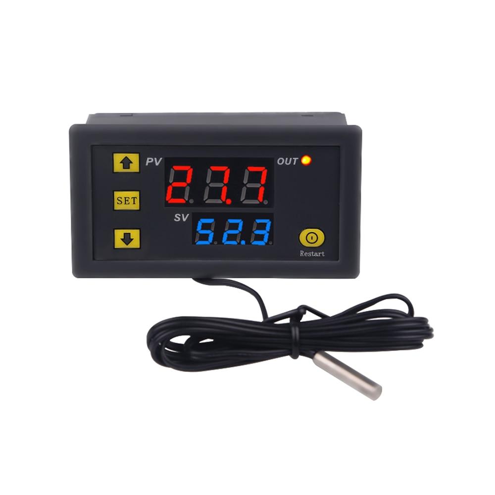 LCD DC 12V 20A cyfrowy termostat Regulator temperatury Regulator miernika do ogrodu