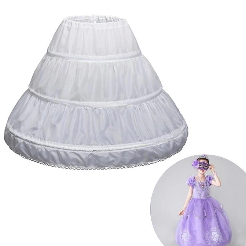 платье модель туника детское barkito желтые цветы желтое с белой отделкой Белая детская подъюбник трапециевидного силуэта, 3 обруча, однослойное детское платье с кружевной отделкой из кринолина, Цветочное платье д...