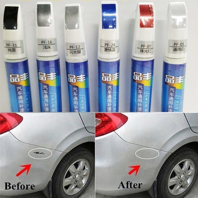 6Colors Car Scratch Repair Agent Auto Touch Up Pen Car Care Scratch Remover Car AccessoriesPaint Care Special Auto Paint Pen