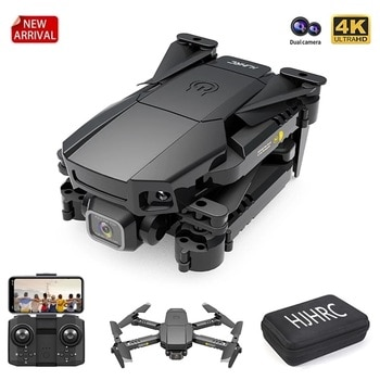 New Mini Drone 4K Camera Dual Hd Holdable Quadcopter  Fpv Profesional Drones Wifi Real-Time Transmission Helicopter Toy For Boy