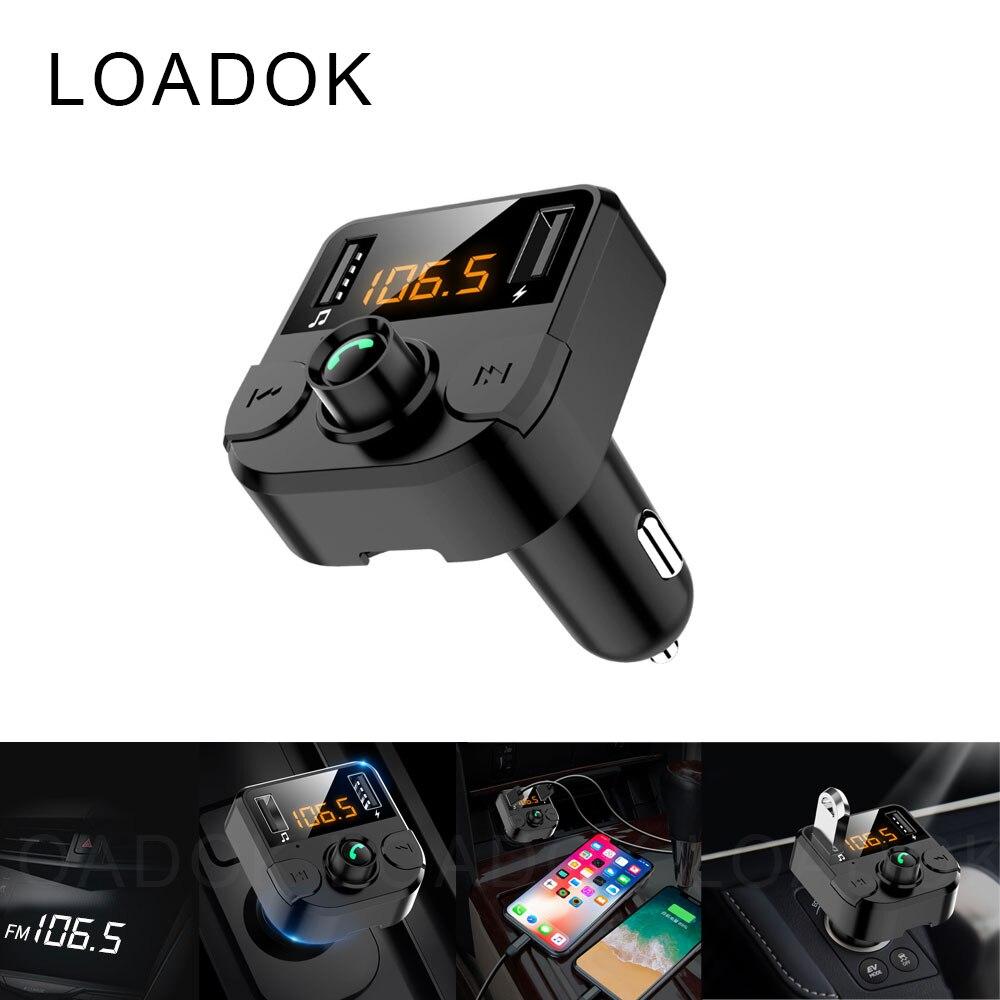 Автомобильный Bluetooth MP3 музыкальный u-диск Многофункциональный 5,0 плеер приемник автомобильный прикуриватель автомобильное зарядное устрой...