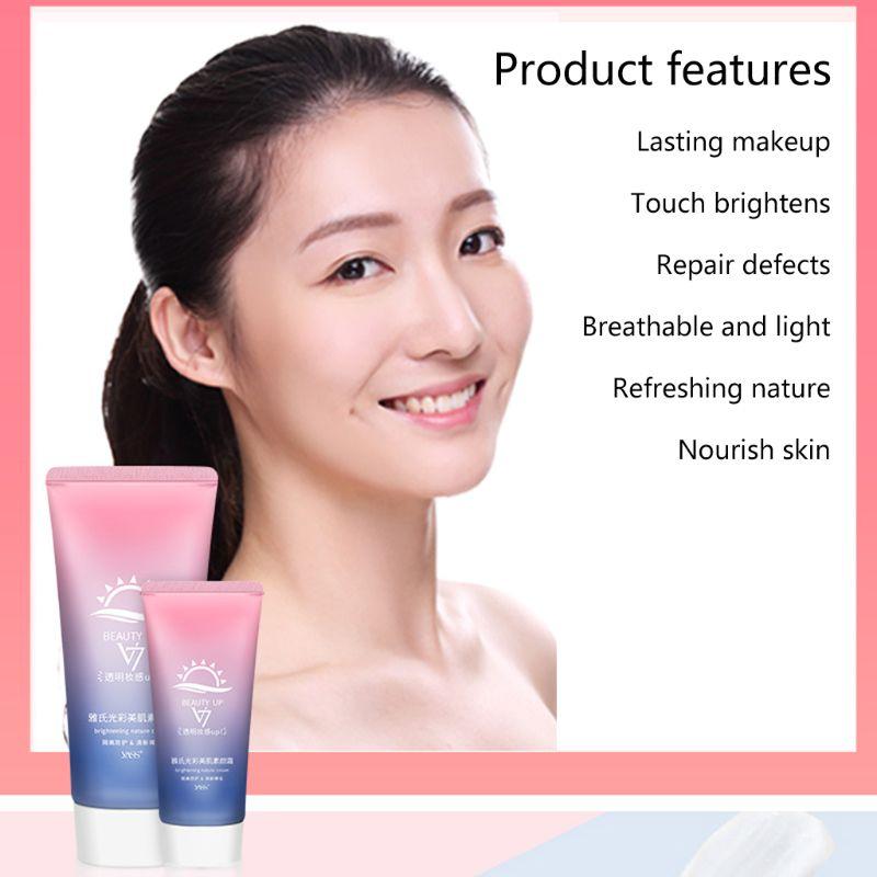 Nude maquiagem rosto tonificação creme clareamento hidratante corretivo poros suave ajuda q0kd