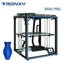 TRONXY 3D Printer X5SA PRO/X5SA 24V Upgraded Auto Level Double Axis External Guide Rail Titan Extruder impresora 3d printers