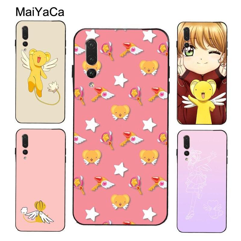 MaiYaCa Kero Cardcaptor Sakura chan Case For Huawei Honor 10i 9 10 20 Lite 7A Pro 7C 8A 8C 8S 8X 9X Y6 Y9 5 Y7 2019 Nova T