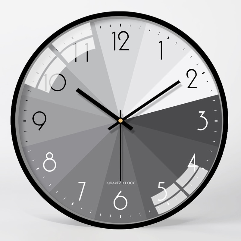 Reloj de Pared silencioso moderno, Reloj de Metal, relojes para sala de estar, dormitorio, decoración de Pared para el hogar, Reloj creativo, Reloj de Cocina FZ213