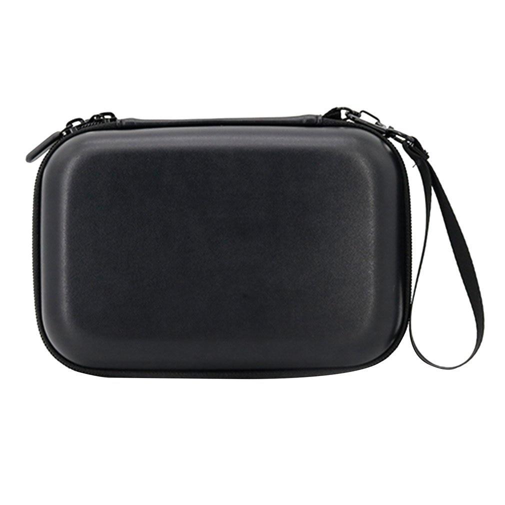 Waterproof Portable Storage Box Bag 1680D PU Carrying Case Handbag For DJI Osmo Mobile 3 Handheld Gimbal Black