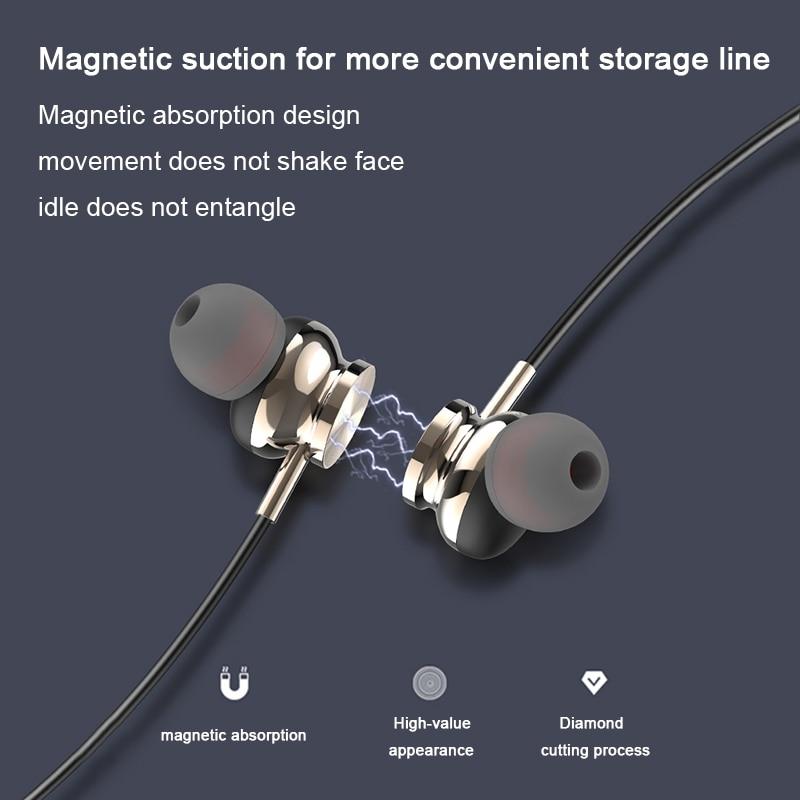 Bluetooth V5.0 Wireless Stereo Earphone Sports Neckband  Earphone IPX5 Waterproof For IPhone Xiaomi Huawei Honor Samsung Redmi enlarge