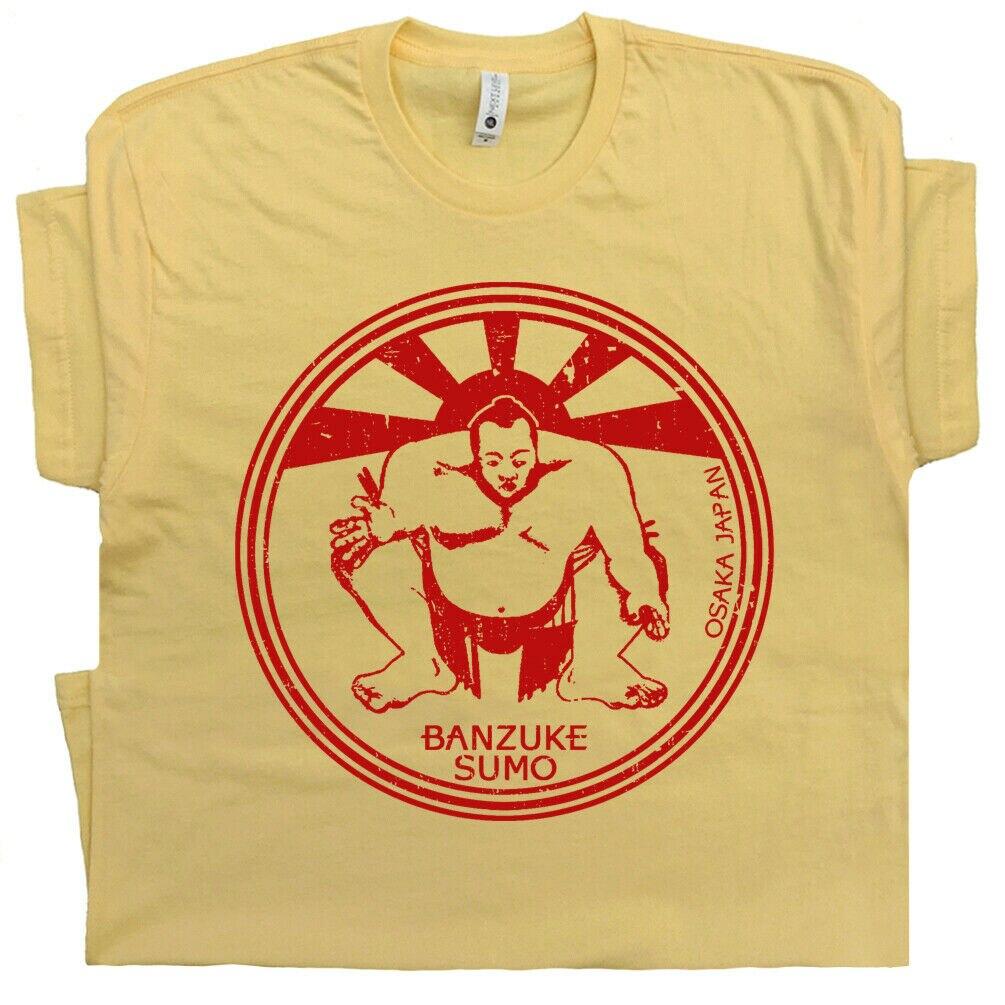 2019 engraçado japonês sumo wrestling t camisa japão arte luta clube retro ginásio wwf karate criança t camisa unisex