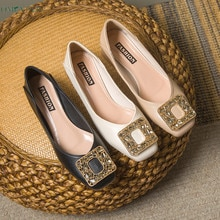 Women Shoes 2021 Summer Pumps Fashion Designer Ladies High Heel Shoes Pointed Plus Size Shallow Mout