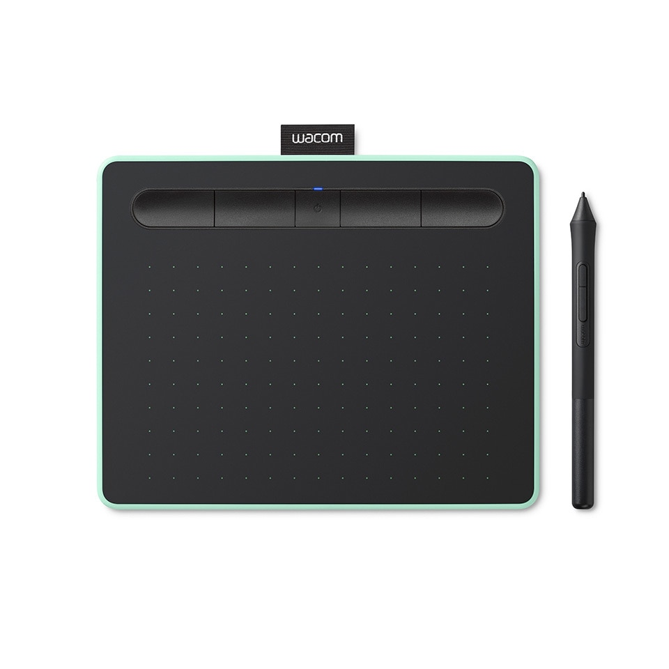 Графический планшет Wacom Intuos S Bluetooth, фисташковый (CTL-4100WLE-N)